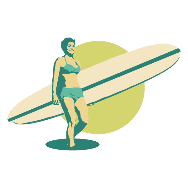 Clases de Surf Long Gliders